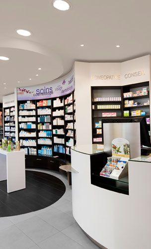 Agencement et aménagement de pharmacie à Marrakech