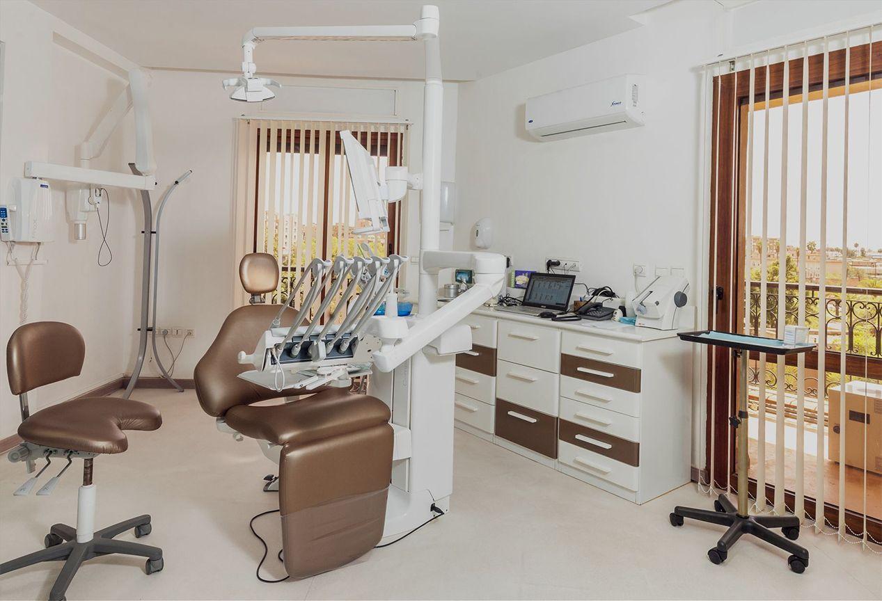 Aménagement intérieur de cabinet médical à Marrakech