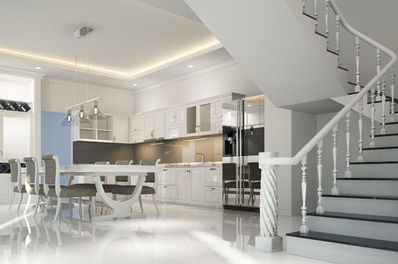 Aménagement de cuisine design sur mesure chez Kech Design