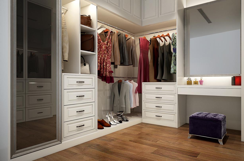 Dressing, aménagement placard et meuble de rangement à Marrakech