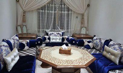 Aménagement salon marocain à Marrakech