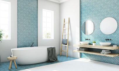 Décoration de salle de bain à Marrakech